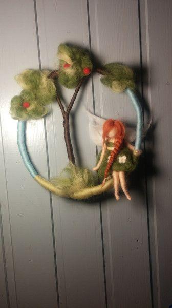 Traumfänger & Mobiles - * Zauberschönes Mobile * Gartenfee - ein Designerstück von Giodali bei DaWanda