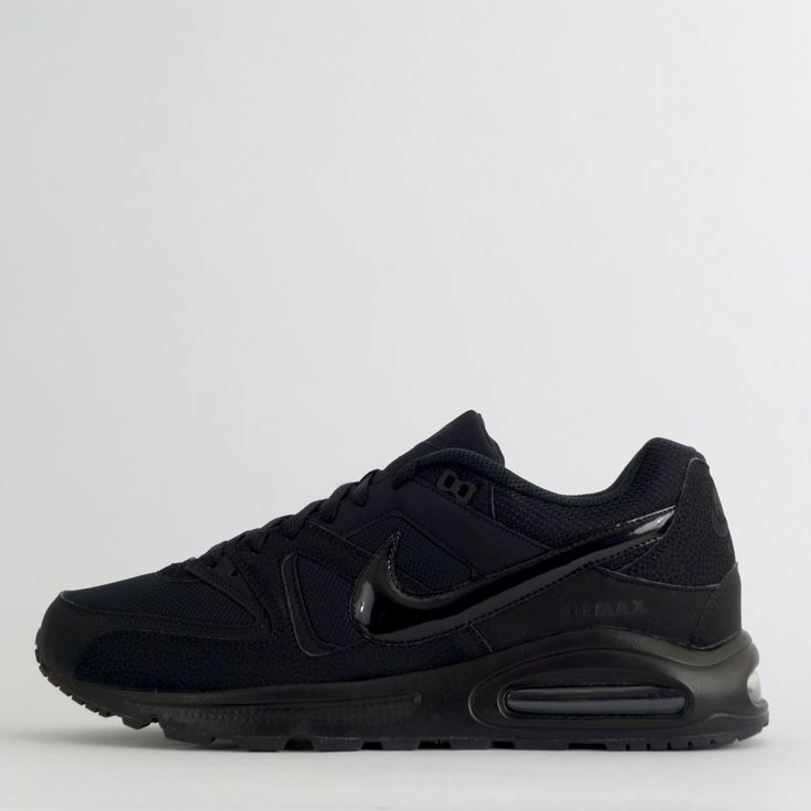 Nike Air Max Command Men's Casual Trainers Shoes Sneakers Triple Black #Nike…