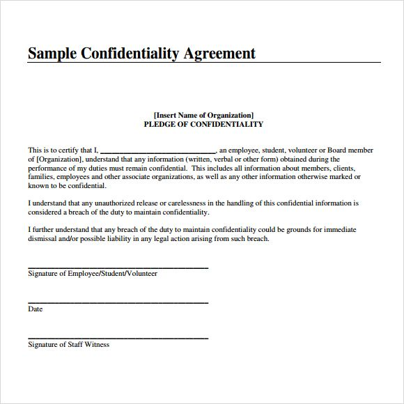 Confidentiality Agreement Template Check More At Https Nationalgriefawarenessday Com 5171 Confid Non Disclosure Agreement Agreement Personalized Workout Plan