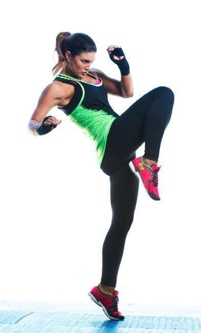 image Extreme gym workout gina valentina is one