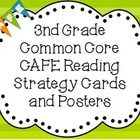 These 38 strategy cards are aligned to the 3rd grade common core standards and the CAFE menu by Gail Boushey and Joan Moser. I used clip art from S...