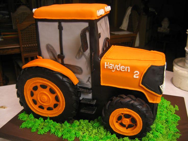 Kubota Tractor Cake
