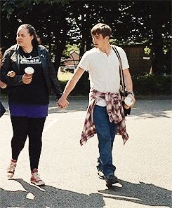 Rae and Finn. They are just adorable. My Mad Fat Diary Series 2 is fantastic