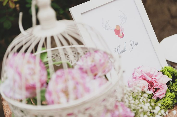 romanitc thank you note wedding. romantic wedding decor. rustic wedding table details. pink wedding flowers decor @wedinflorence http://wedinflorence.com/