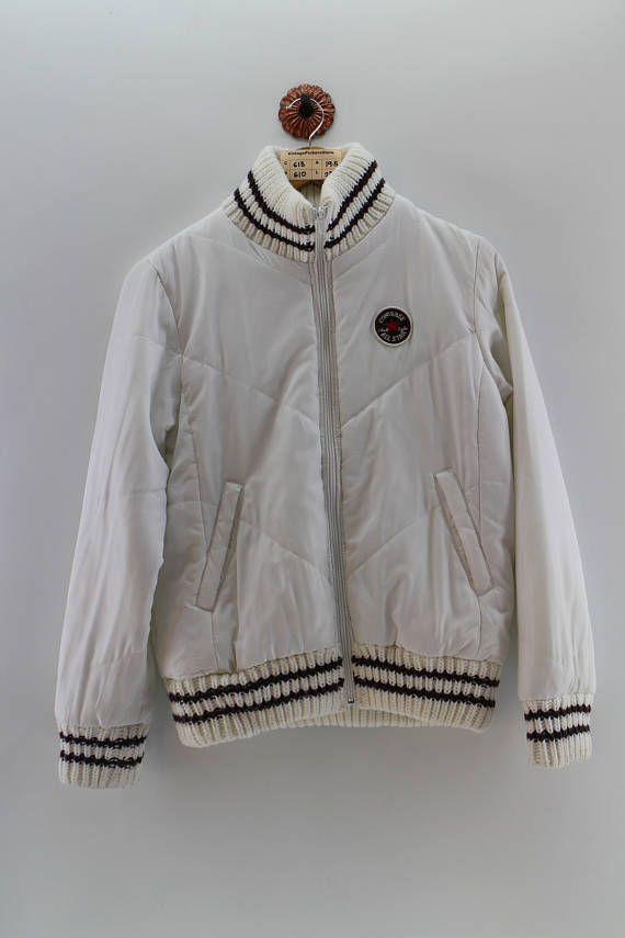 Converse All Star Bomber Jacket Medium Ladies Vintage 90 S Bomber Jacket Converse All Star Zippered Sweater