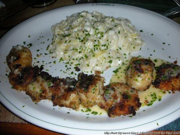 Spiedino De Mare - heaven on a plate!
