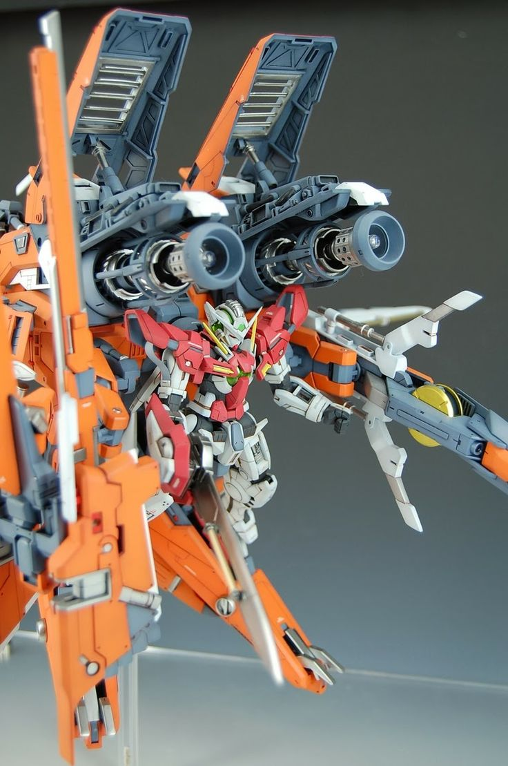 HG 1/144 GN Arms + Gundam Exia - Customized Build
