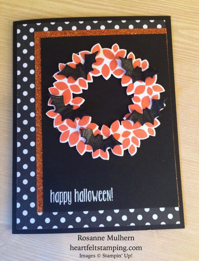 Halloween Card Making Ideas Part - 31: 16 Pretty Paper Crafting Picks Of The Week! (Mary Fish, Stampinu0027 Pretty The  Art Of Simple U0026 Pretty Cards)