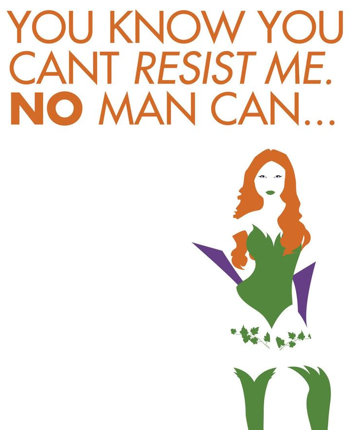 Poison Ivy!  I'd love a print of this.