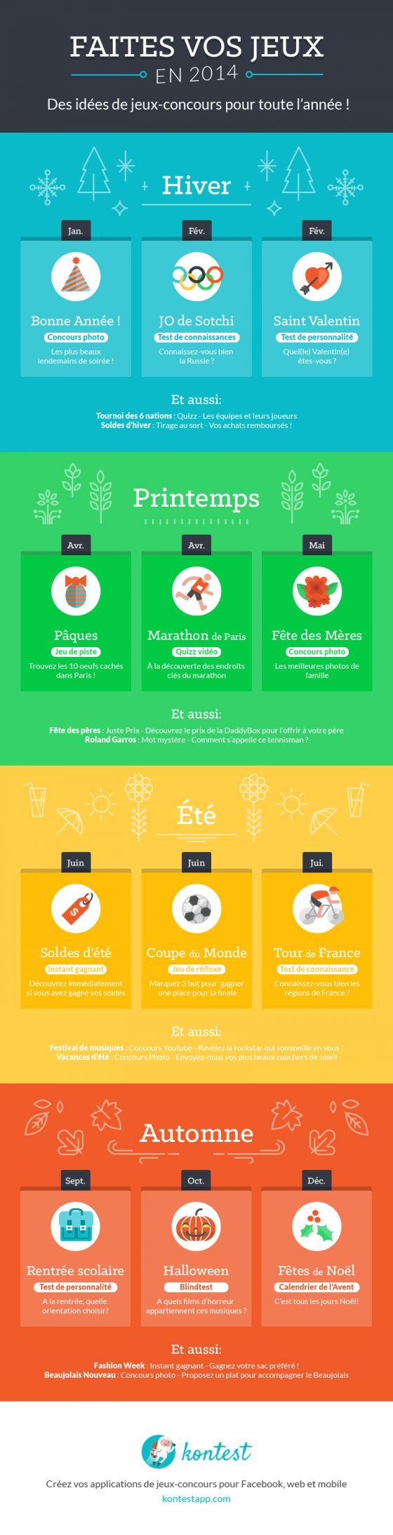 20 Idées de Jeux-Concours Facebook Saisonniers pour votre Calendrier Editorial