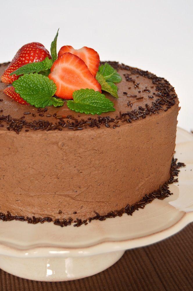 Citromhab: Mogyorókrémes csokoládétorta