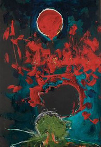Untitled (1991) by Mario Schifano