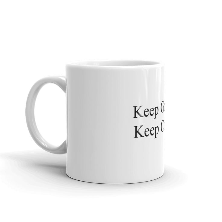 "Ewen's Store - ""Keep Growing Keep Creating"" Mug"