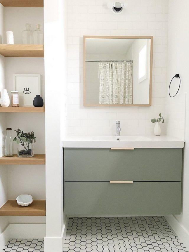 41+ Luxurious Black And White Subway Tiles Bathroom Design
