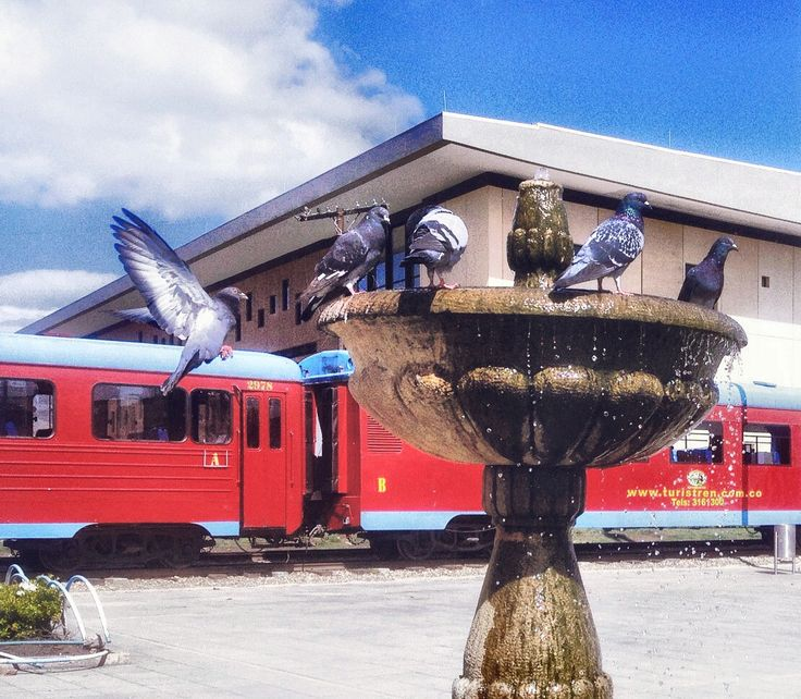 Estación del tren de la Sabana, Cajicá.