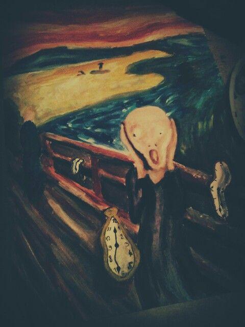 Salvador Dali & Edward Munch (<Hodinový Výkrik>) ~My a®t~