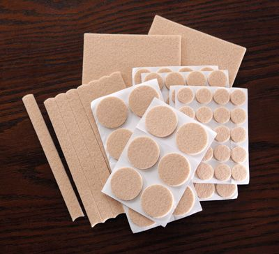 112 Pcs Felt Furniture Slide Pad Set (on sale for $4.97...need - 7 Best Images About Wood Floor Protection On Pinterest