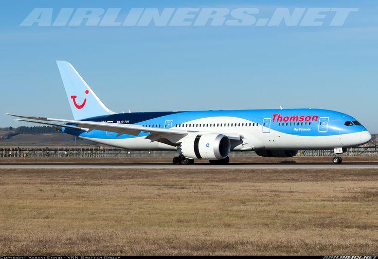 Boeing 787-8 Dreamliner - Thomson Airways | Aviation Photo #4248933 | Airliners.net