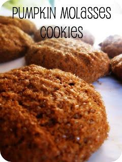 GIANT Pumpkin Molasses Cookies