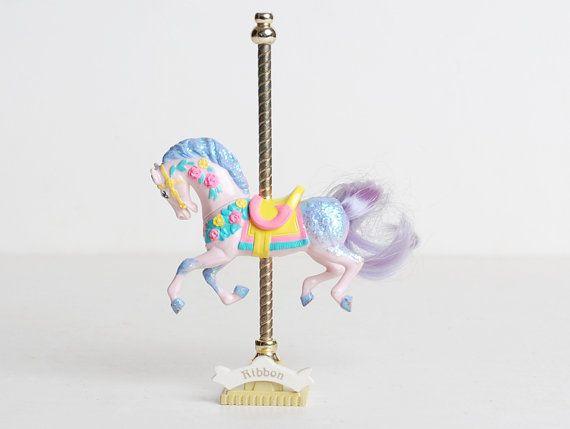 Matchbox Ribbon Carousel Horse. I had this! ♥