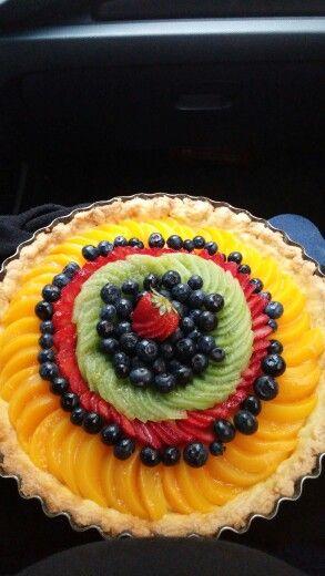 Tarta de frutas...