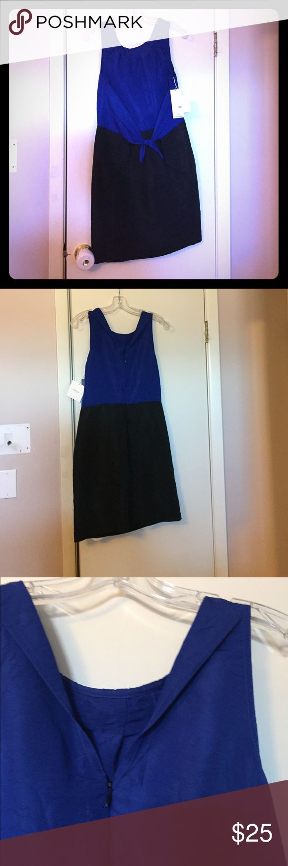 Richard Chain for Target dress This dress is a Vibrant blue and black and made of a dressy feel fabric which contributes to the overall elegant look. richard chai for target Dresses Midi