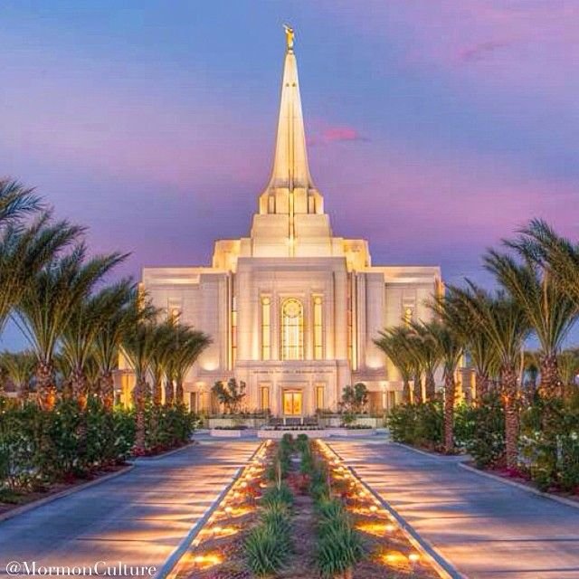 The Gilbert Arizona Mormon Temple is open to the public until Feb. 15, 2014!