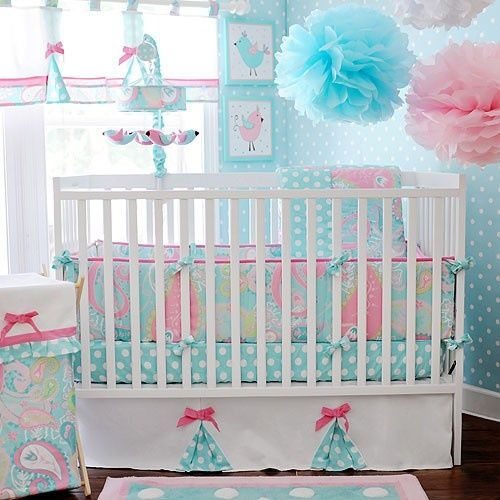 This is what I want for Laney's room. Replace Blue with Green, though.