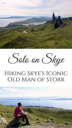 Solo on Skye: Hiking to the Old Man of Storr on the Isle of Skye - an iconic spot for magnificent views. | hiking trails in Scotland | solo travel on Skye | hill walking in Scotland | Scottish Highlands | best views in Scotland | What to see on Skye | What to do in Scotland | awomanafoot.com