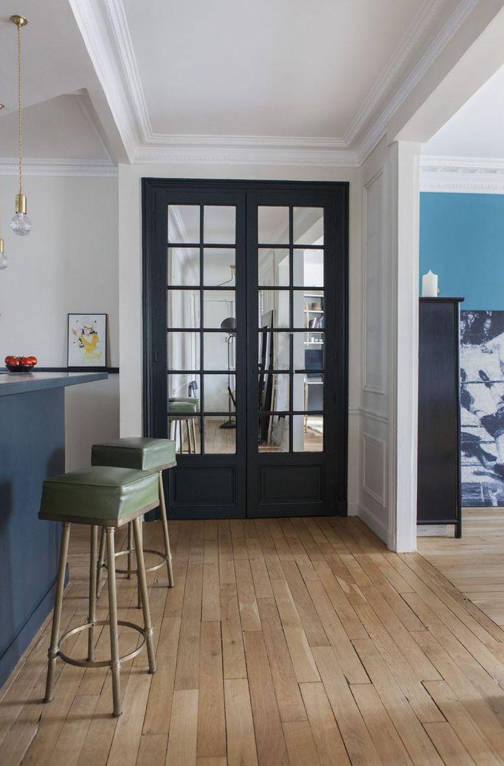 les 25 meilleures id es de la cat gorie peinture porte sur pinterest peinture porte bois. Black Bedroom Furniture Sets. Home Design Ideas