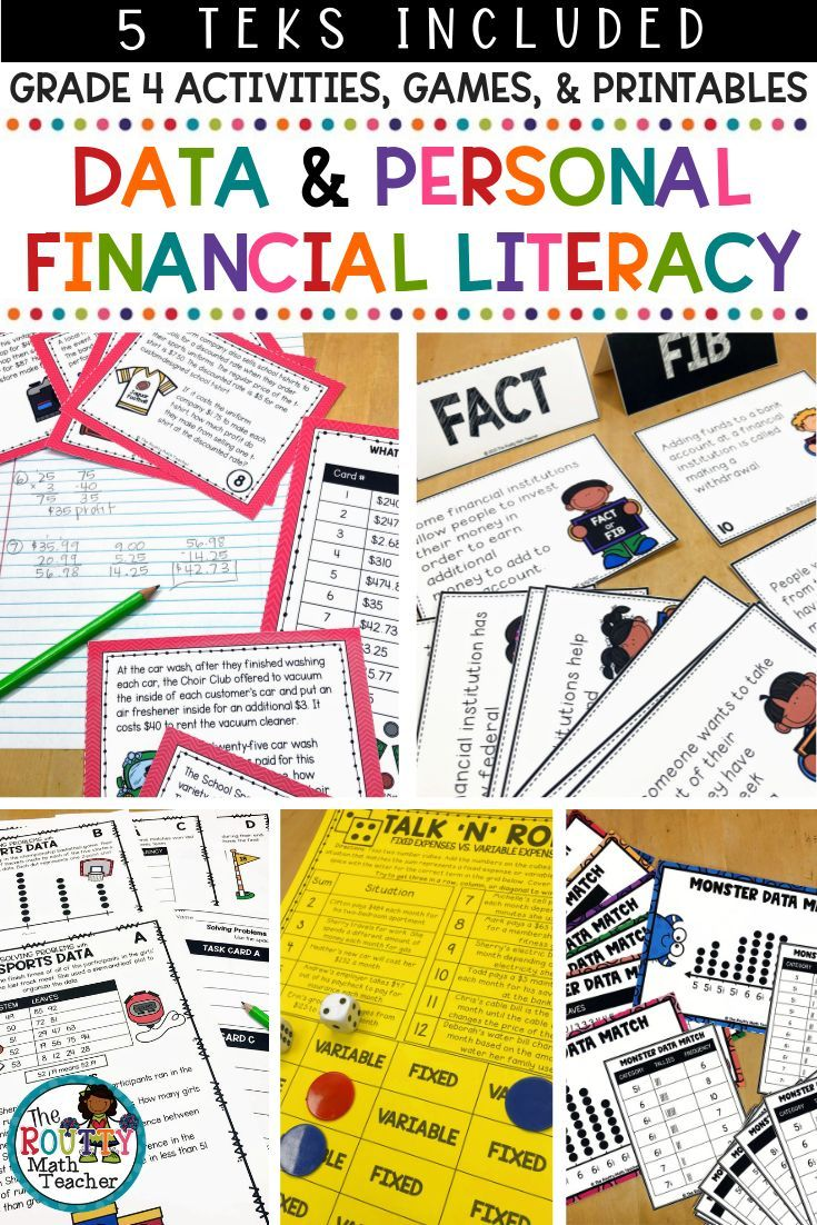 Data And Graphs And Personal Financial Literacy Help Your 4th Grade Students Mas Personal Financial Literacy Financial Literacy Worksheets Financial Literacy [ 1102 x 735 Pixel ]