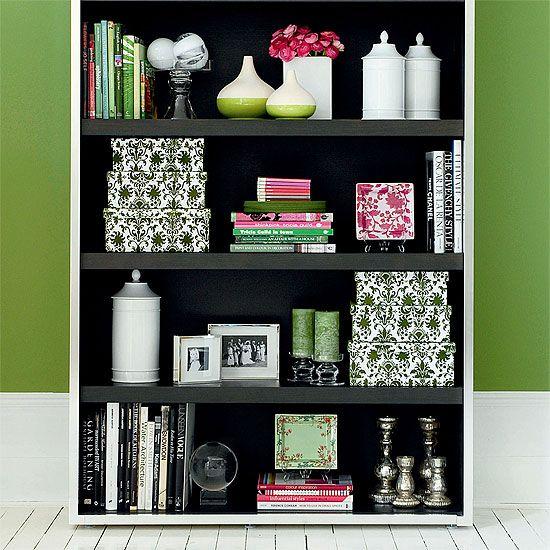 bookshelf decor - How To Decorate Bookshelves