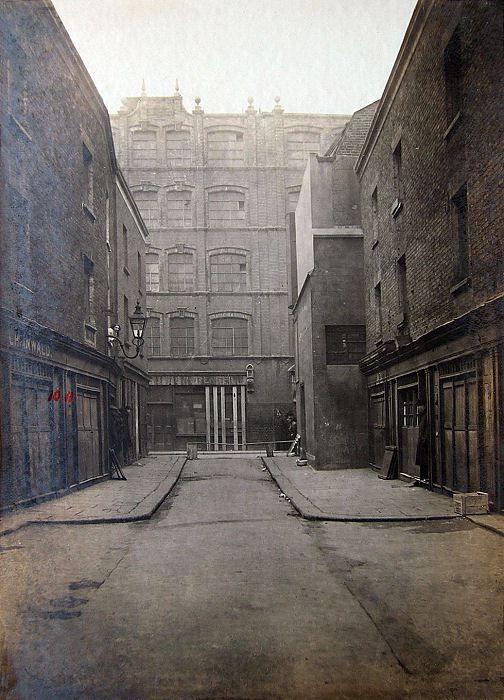 Houndsditch Crime Scenes 15 Exchange Buildings & Cuttler Street from…