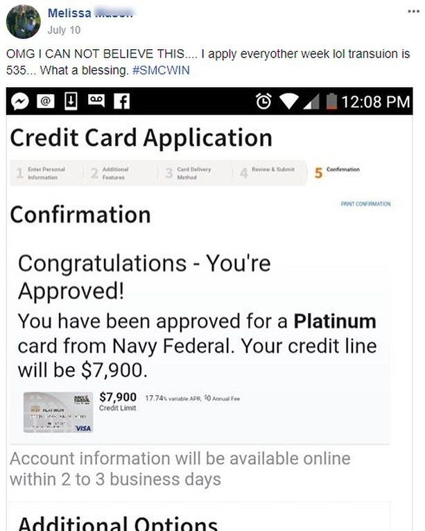 Cfpb Smcwin Thisprogramworks Creditsecret Creditsecrets Collectionsremoved Credit Card Application How To Apply A Blessing