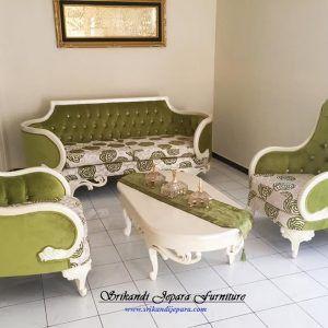 Set Kursi Sofa Tamu Mewah