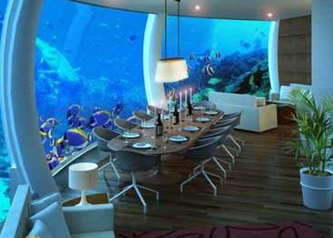 Sleep Underwater In Maldives Conrad Bedroom Suite Pinterest Suitealdives