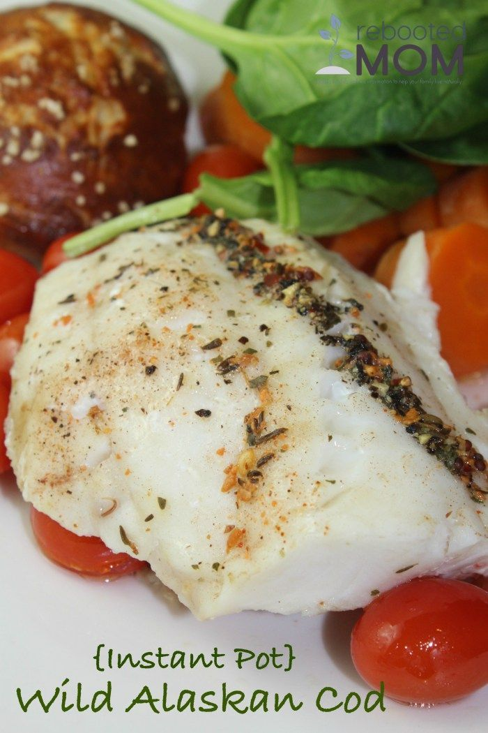 instant pot wild alaskan cod fish seafood recipes