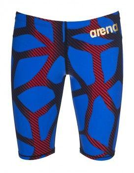 Arena 2016 ST X-Raptor Limited Edition Jammers - Cyan Blue / Red
