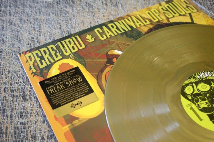 Pere Ubu : Carnival Of Souls ( Fire Records) Art Cover : Alex Horn Typography : John Thompson