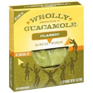 Wholly Guacamole and Wholly Salsa | 26 Packaged Snacks To Eat When You're Trying To Be Healthy