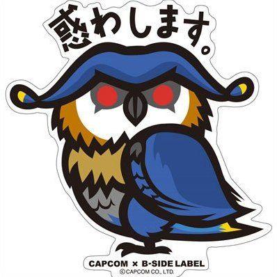 CAPCOM x B-SIDE LABEL Sticker: Monster Hunter X Trickyssu