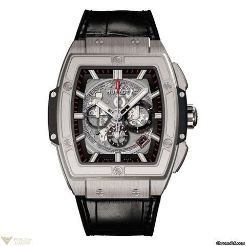 Hublot Chronograph titanium Men`s Watch Spirit of Bing Bang Model No. 601.NX.0173.LR.1704