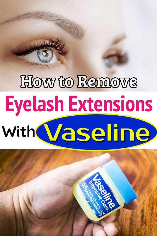 How To Remove Eyelash Extensions With Vaseline Hello Lidy Eyelash Extensions Eyelashes Eyelash Extension Removal