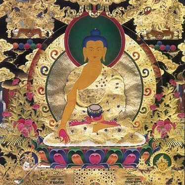 Ratnasambhava One of five Dhyani Buddhas, or wisdom Buddhas, in Mahayana and Vajrayana Buddhism, Ratnasambhava is the representation of wisdom of equality, transforming all feelings of pride into visions of serenity and equity.