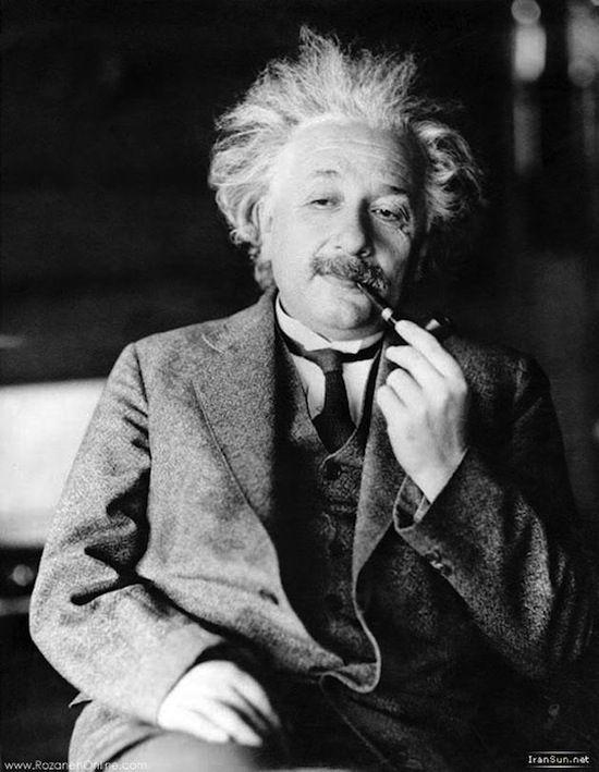 Einstein like a boss