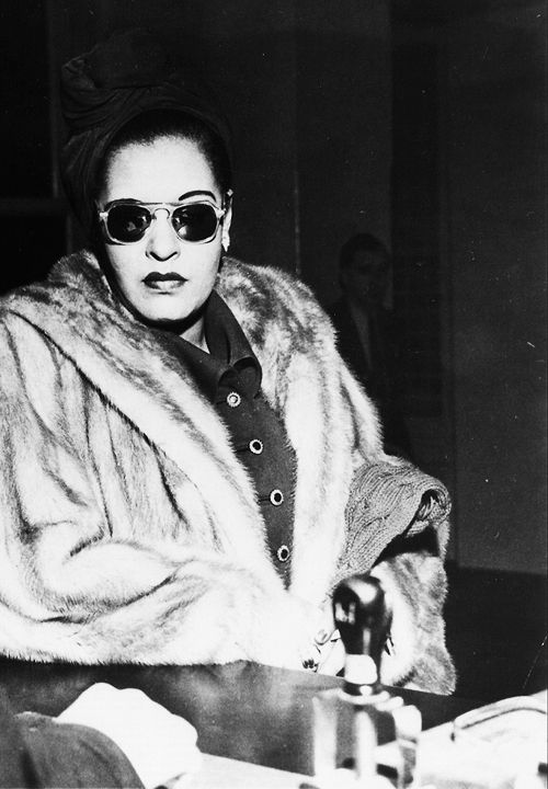Billie Holiday, February 1949 #Re-pinned by KN Custom Shelving