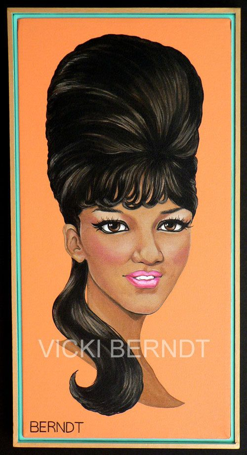 The Ronettes Triptych 2003 by BERNDTOFFERINGS on Etsy
