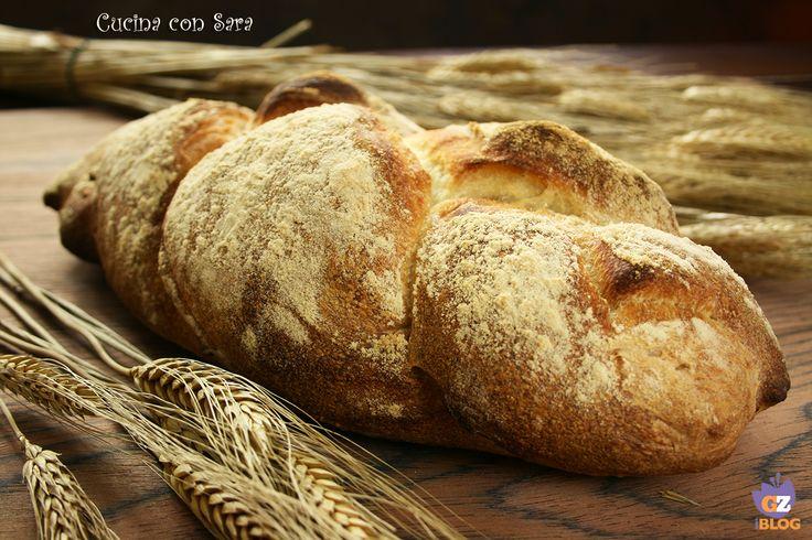 Ricetta treccia di pane con farina di grano duro