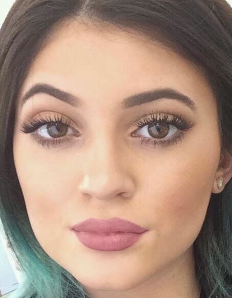Shimmering Image: Kylie Jenner Lip Trend: Three takes on Mauve Lips