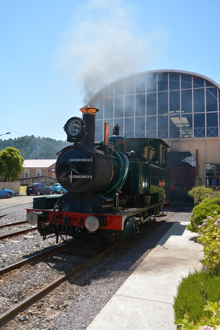 Steam Train - Queenstown Tasmania